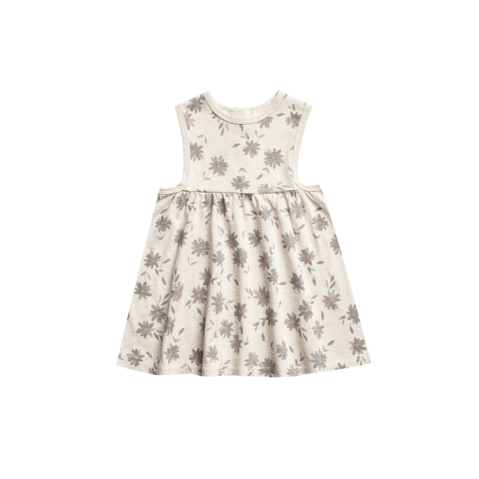 Rylee + Cru Throwback Layla Dress - Daisies