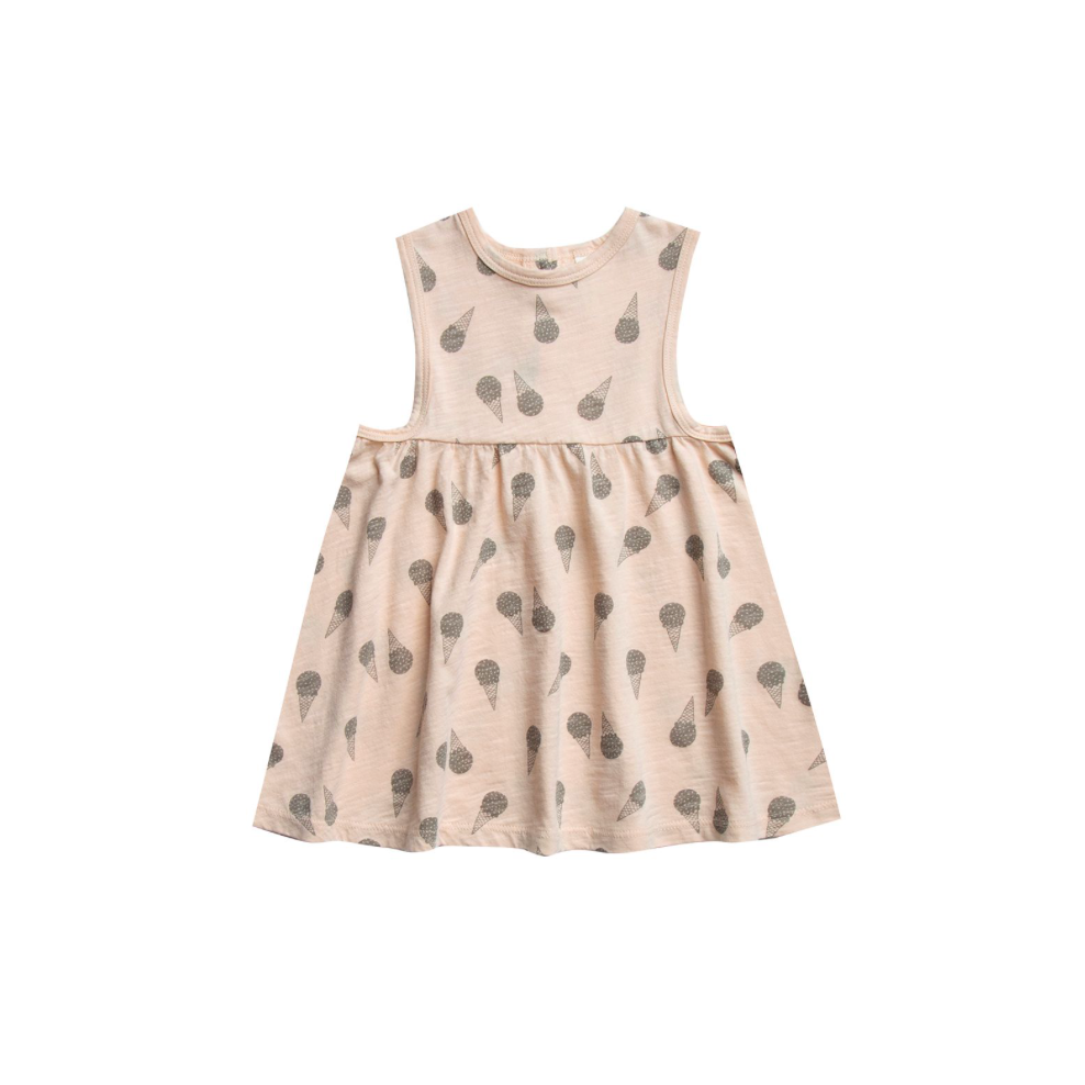 Rylee + Cru Throwback Layla Dress - Ice Cream