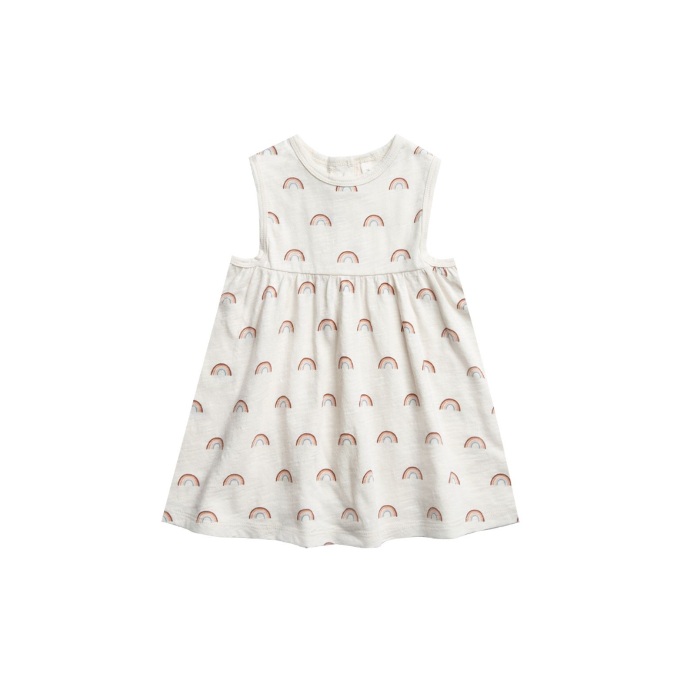 Rylee + Cru Throwback Layla Dress - Rainbow
