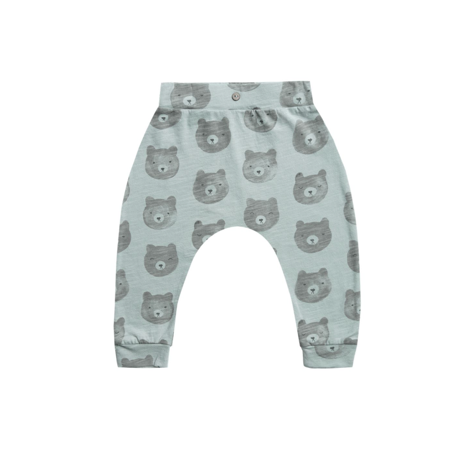 Rylee + Cru Throwback Slouch Pants - Bears