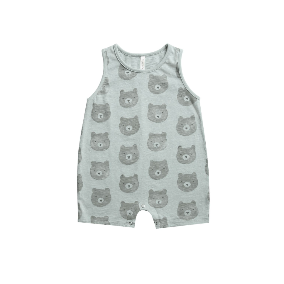 Rylee + Cru Throwback Sleeveless Onepiece - Bears