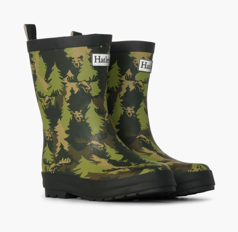 Rain Boots - Forest Camo