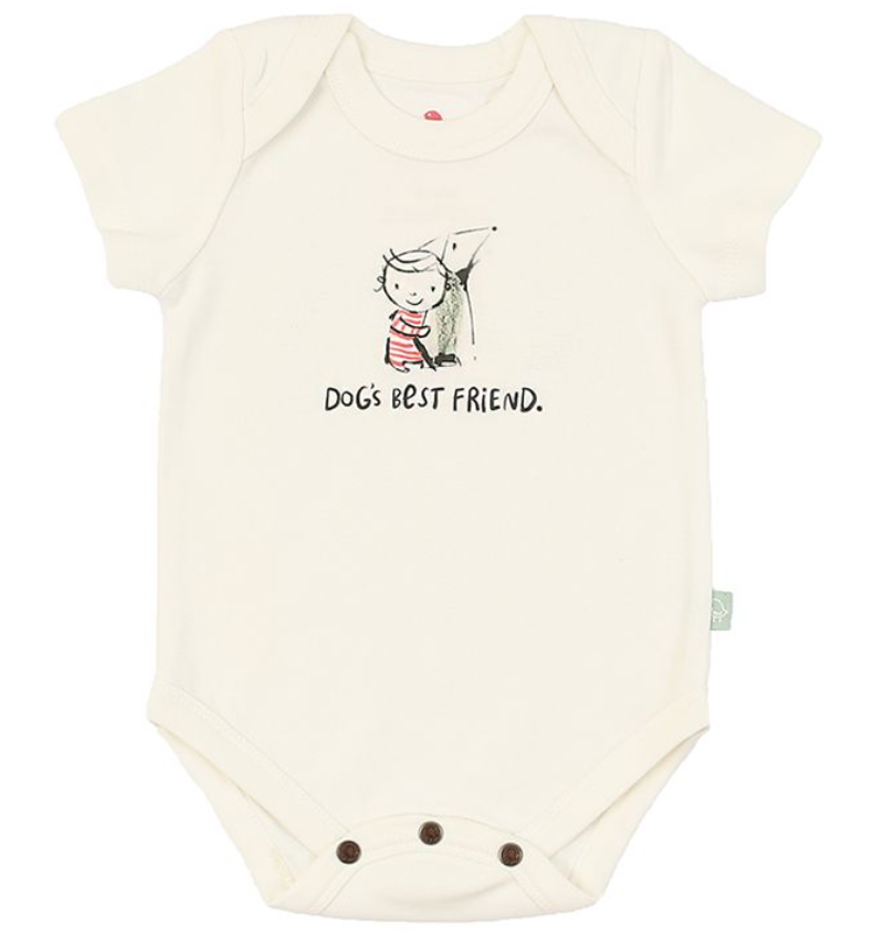 Organic Dog's Best Friend Bodysuit