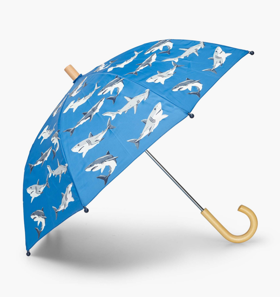 Kids Umbrella - Deep Sea Sharks