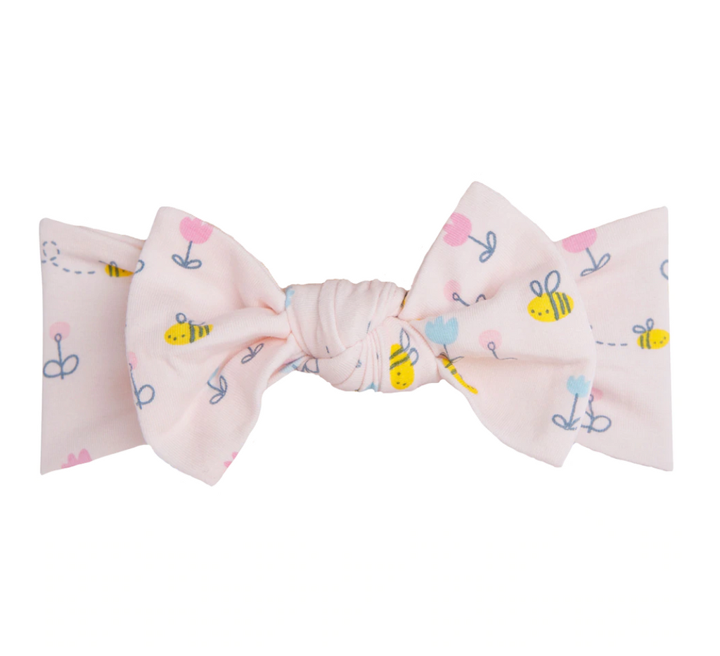 Top Knot Headband - Little Bee