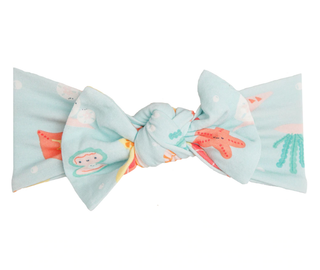 Top Knot Headband - Happy Shells