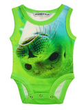 Sleeveless Organic Bodysuit