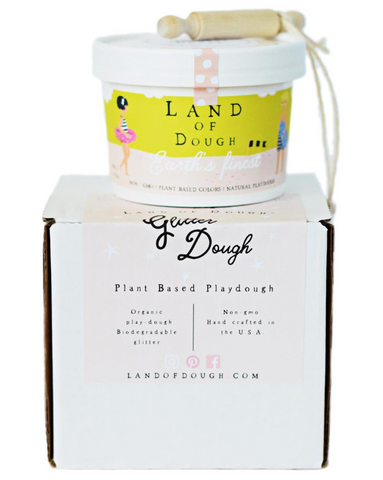 Land of Dough Glitter Dough Mix Kit