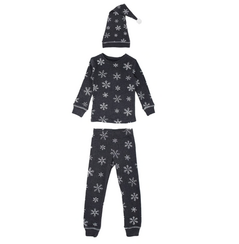 Organic Pajamas and Cap Set