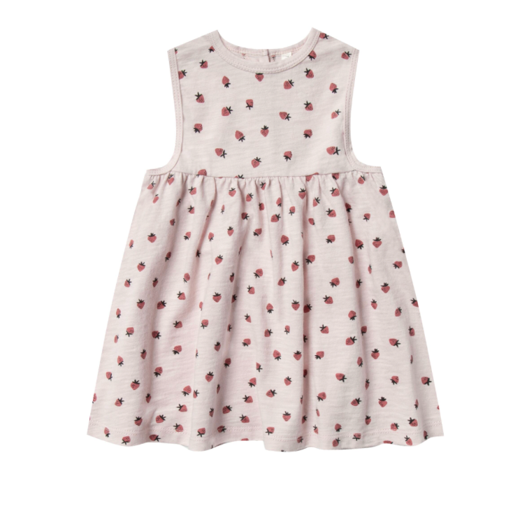 Rylee + Cru Layla Dress - Strawberry