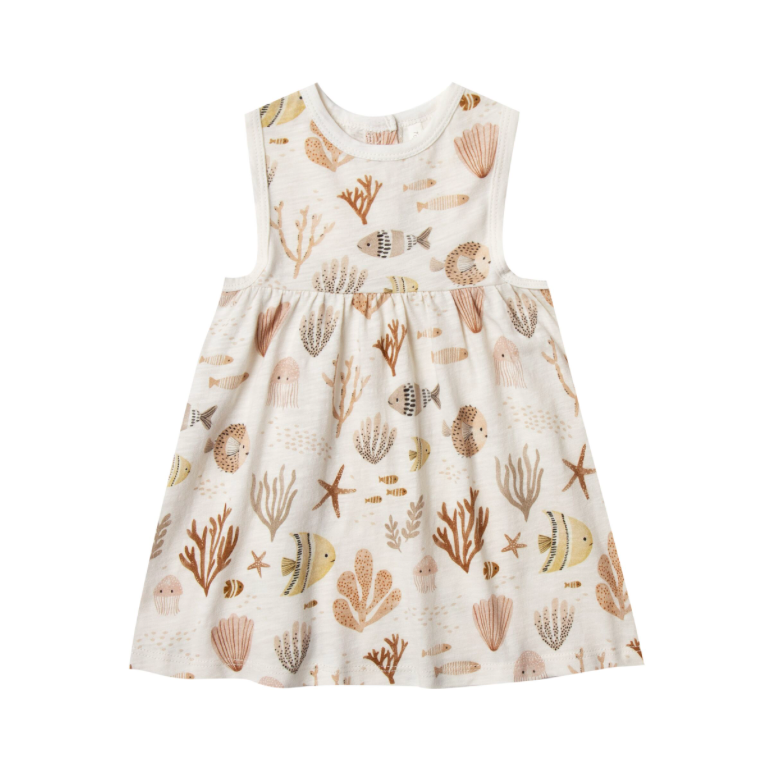Rylee + Cru Layla Dress - Sea Life