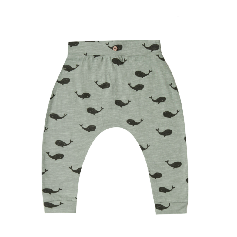 Rylee + Cru Slouch Pant - Whale