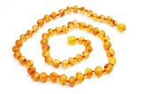Genuine Baltic Amber Teething Necklace