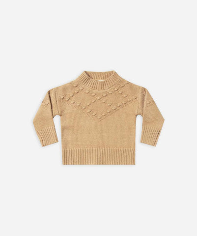 Rylee + Cru Bobble Sweater - Honey