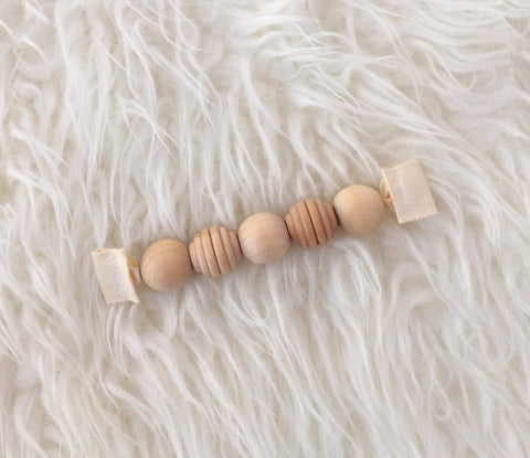 Clover and Birch Grasping Beads
