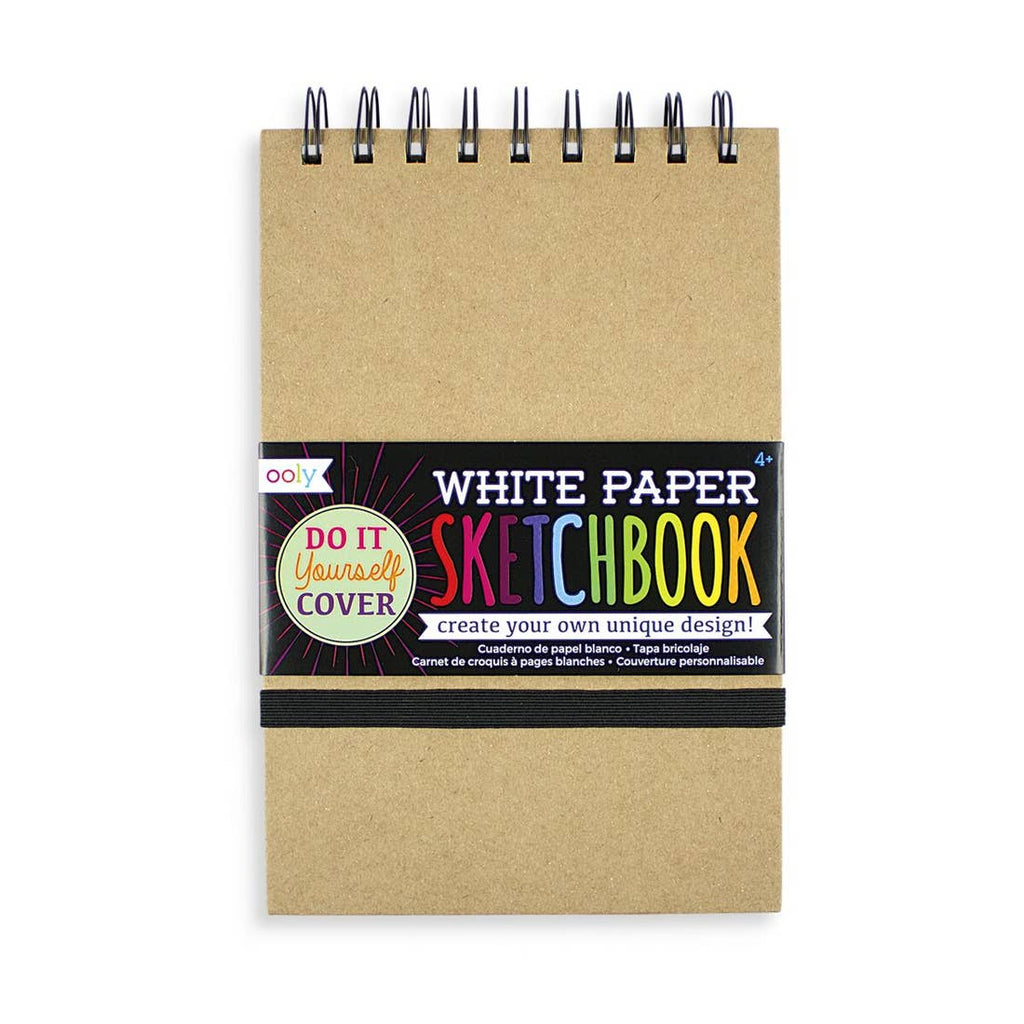 White Paper Sketchbook - 5""