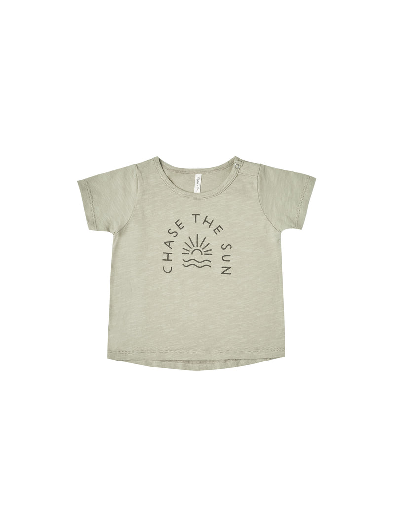 Rylee + Cru Basic Tee - Chase the Sun