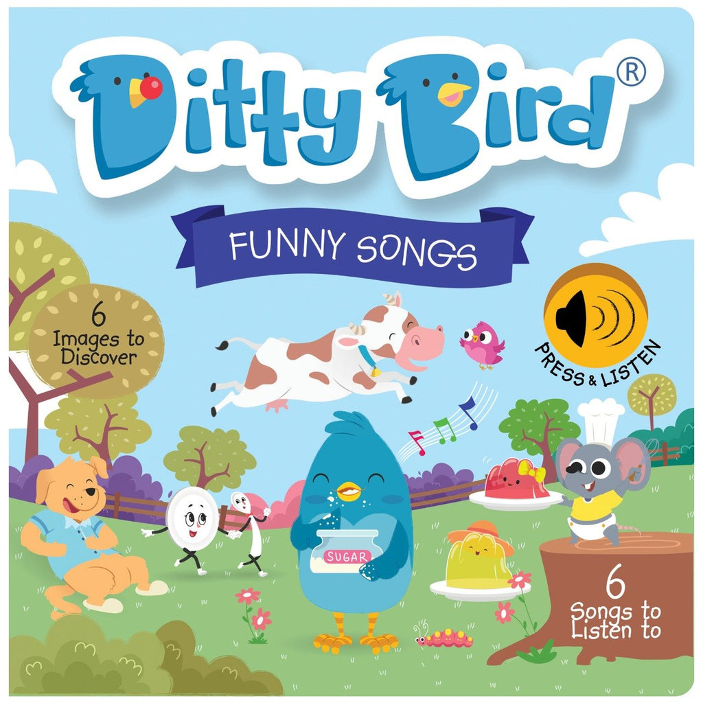 Ditty Bird Board Book - Funny Songs