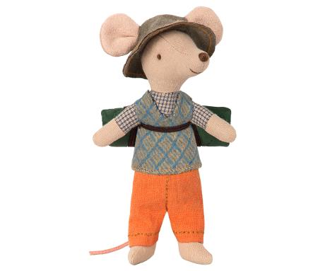 Maileg Hiking Mouse - Big Brother