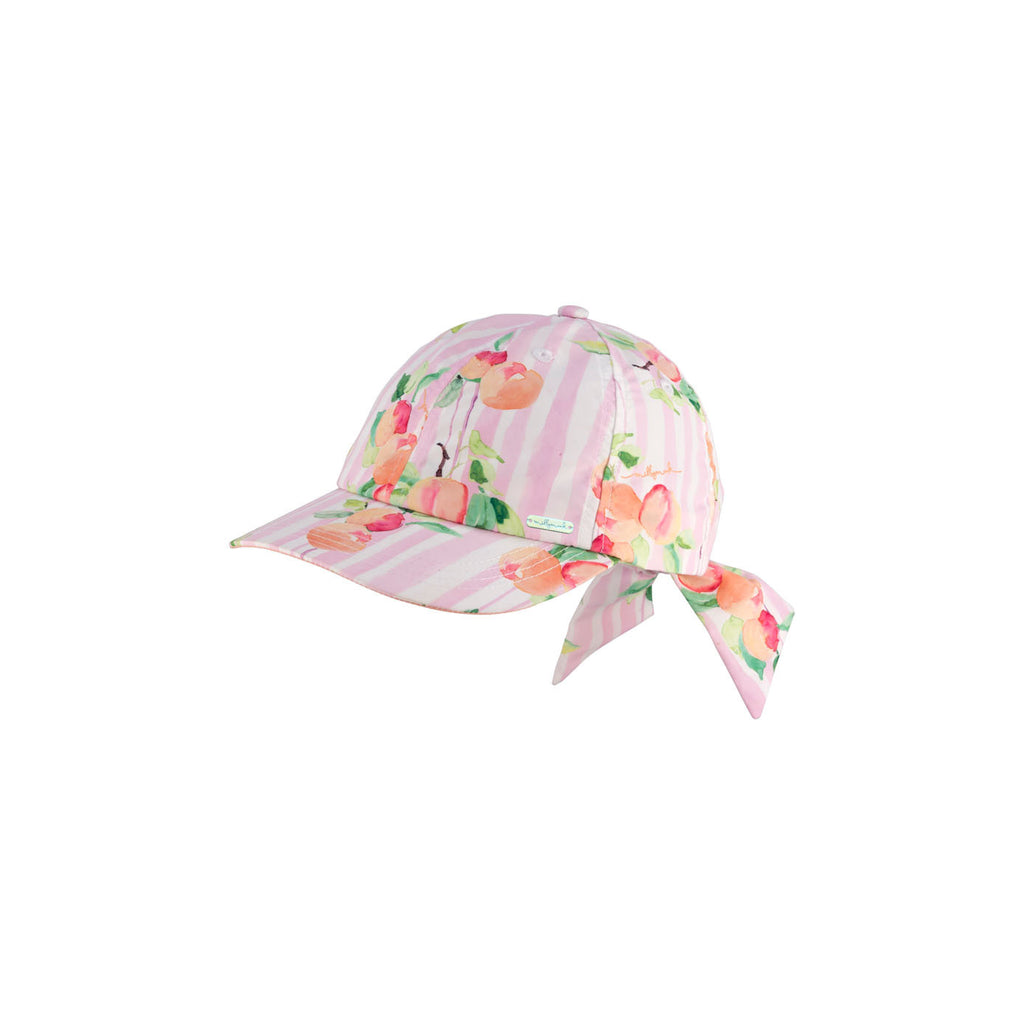 Millymook Bow Cap - Peachy