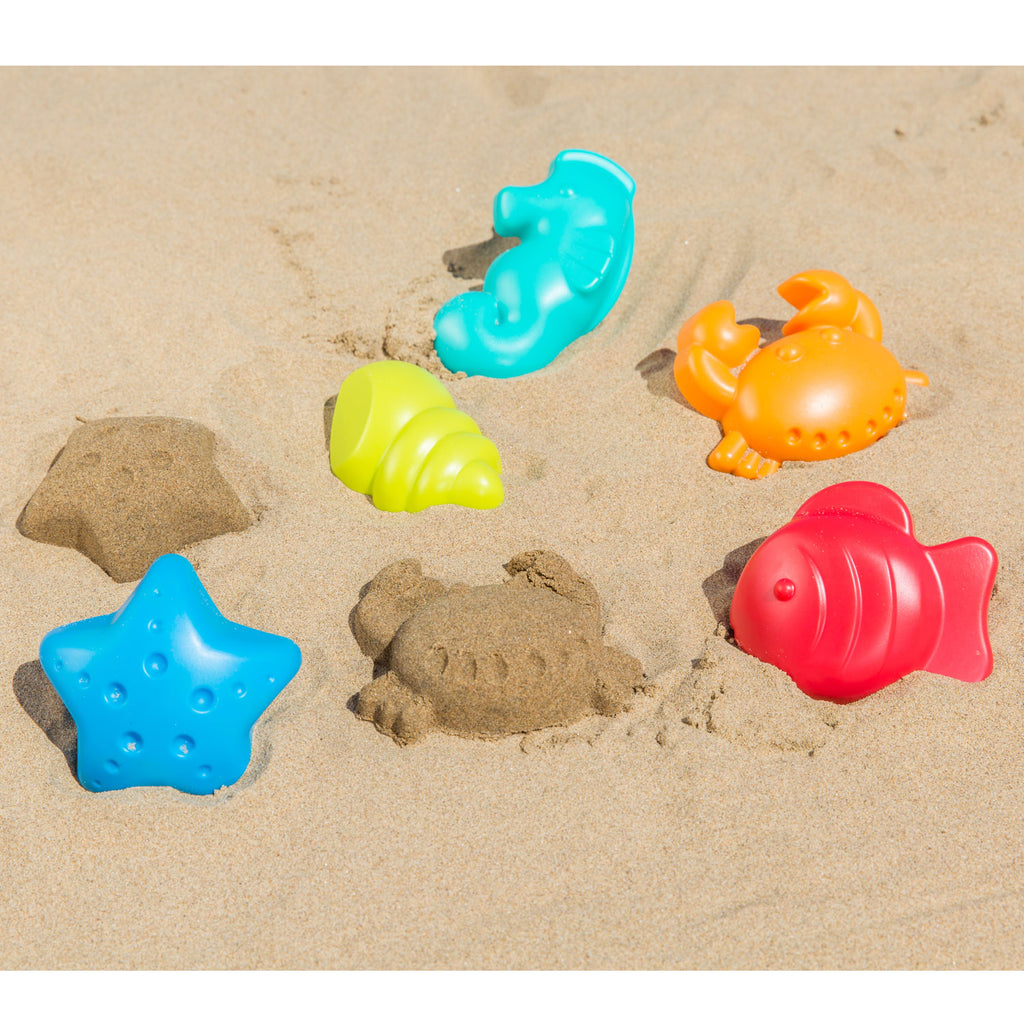 Sea Creature Sand Shapes