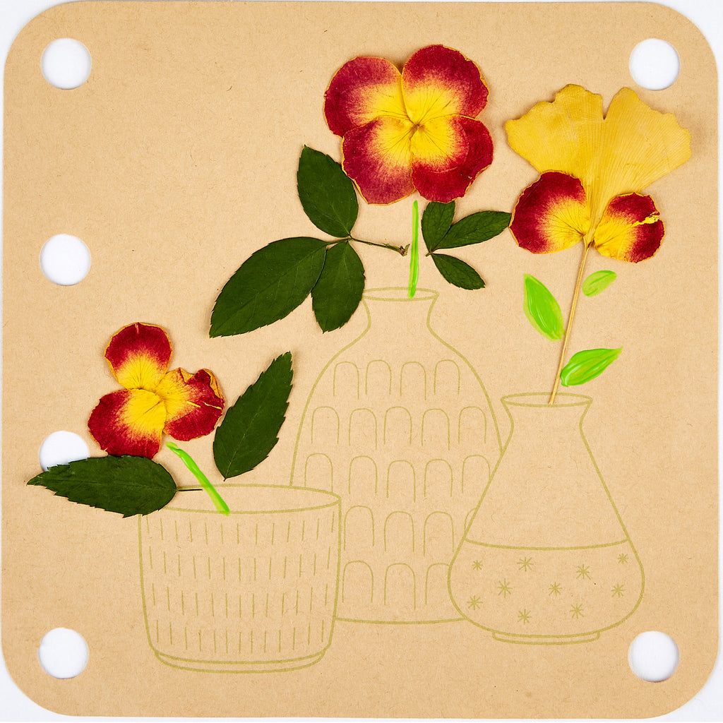 Flower Press Art Kit