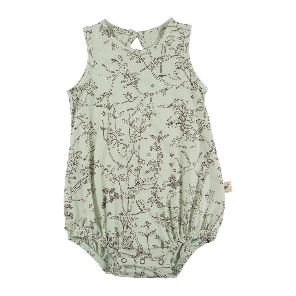 Red Caribou Baggy Romper  - The Canopy