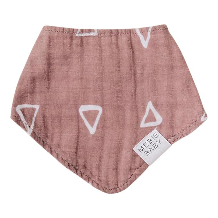 Bandana Bib - Blush Triangle