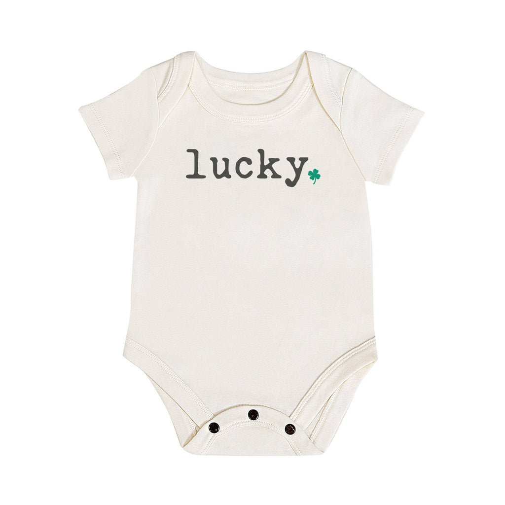 Graphic Bodysuit - Lucky