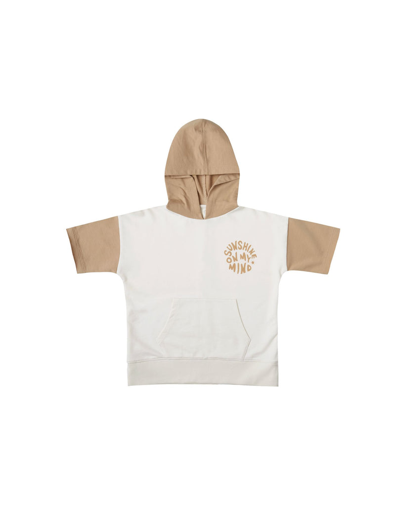 Rylee + Cru Short Sleeve Hoodie - Sunshine on My Mind