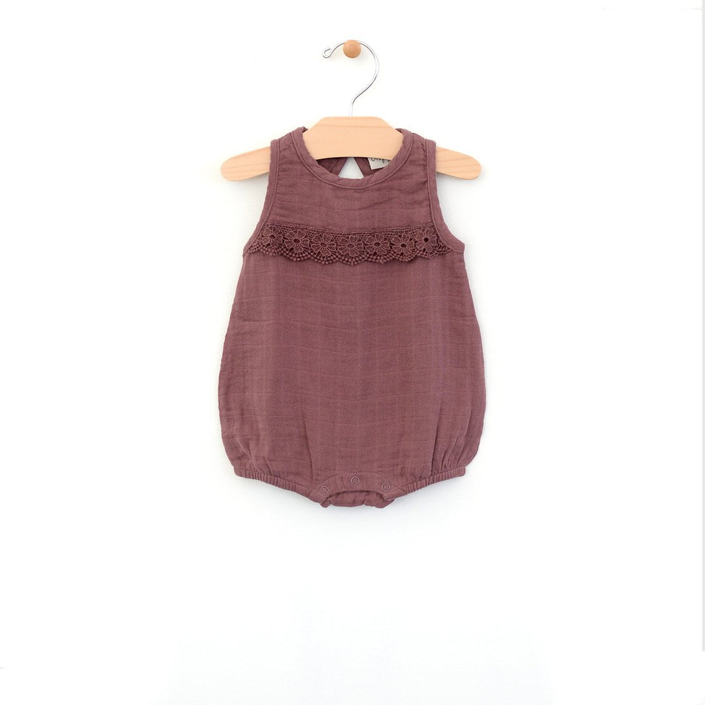 Muslin Bubble Romper