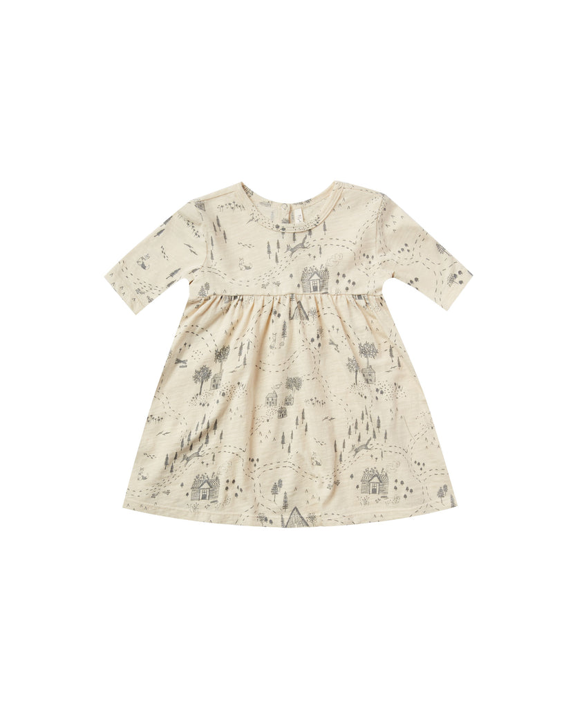 Rylee + Cru Finn Dress - Into the Woods