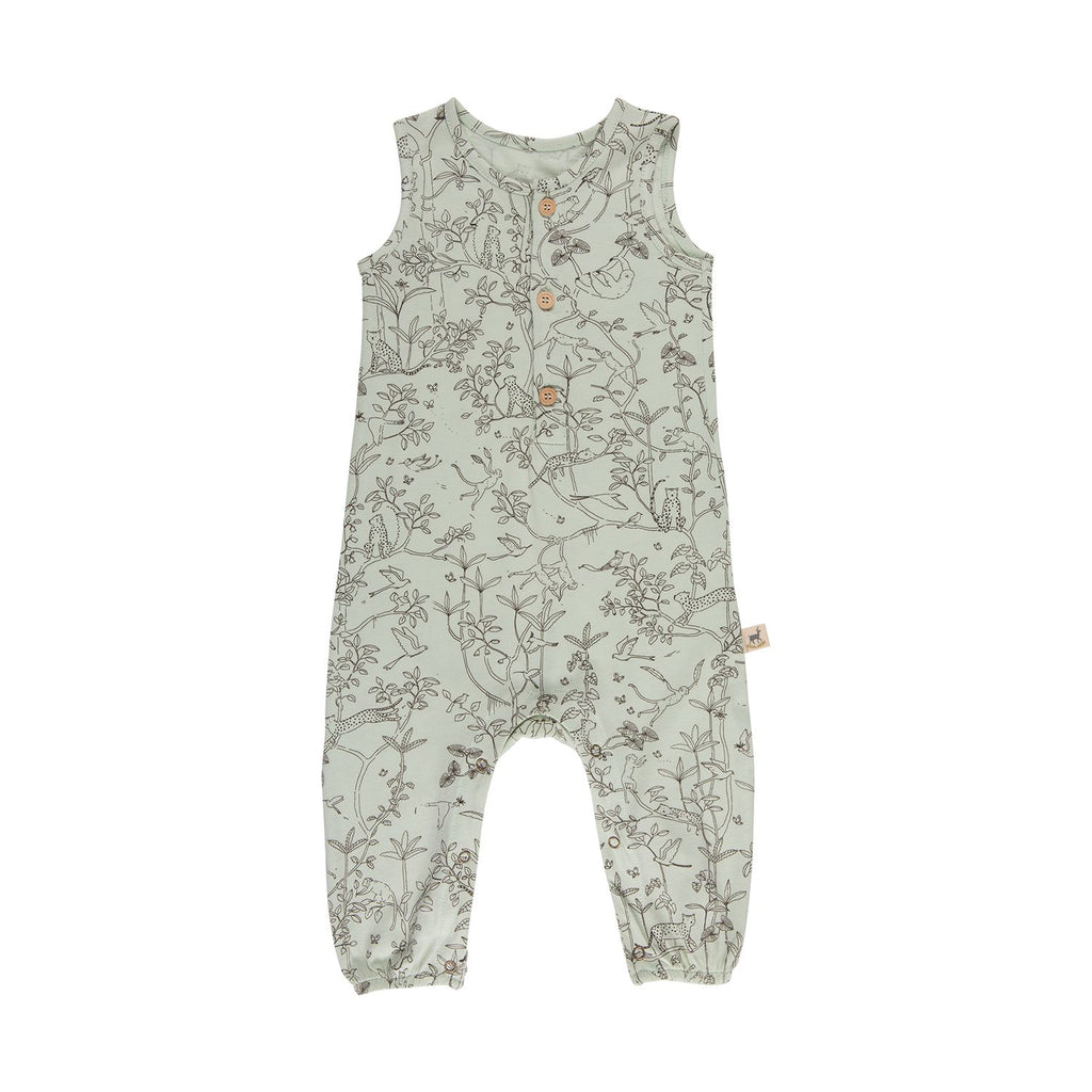 Red Caribou Tank Jumpsuit - The Canopy