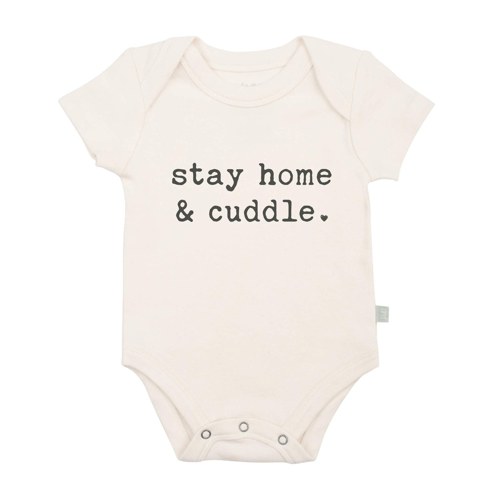 Graphic Bodysuit - Stay Home & Cuddle