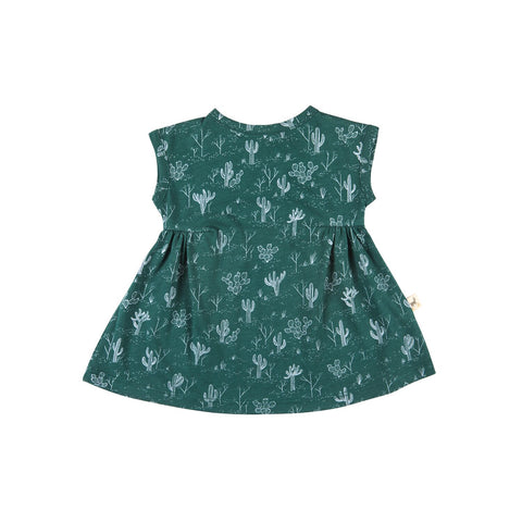 Red Caribou Baby Cacti Dress