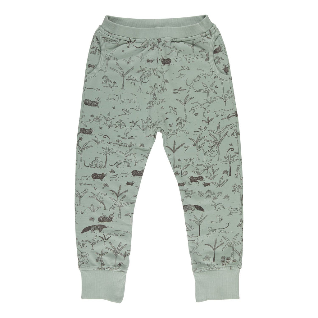 Red Caribou Joggers - The Story Jadeite