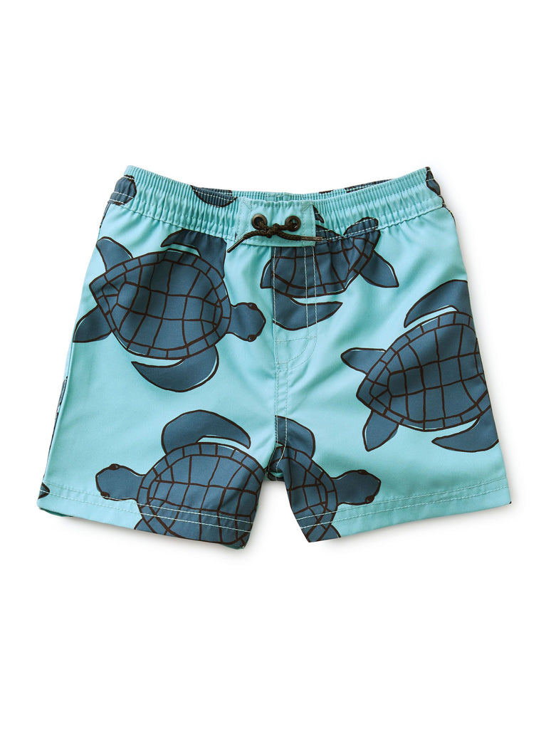 Baby Swim Trunks - Sea Turtle