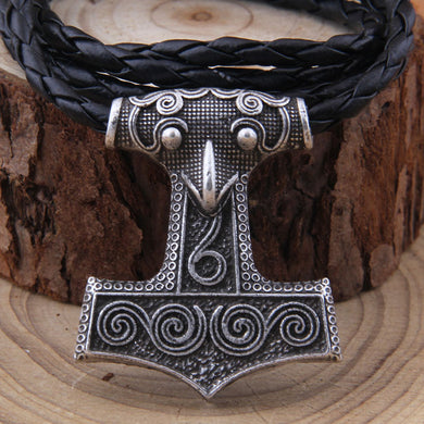 Mjölnir Raven Necklace - Vikingdom