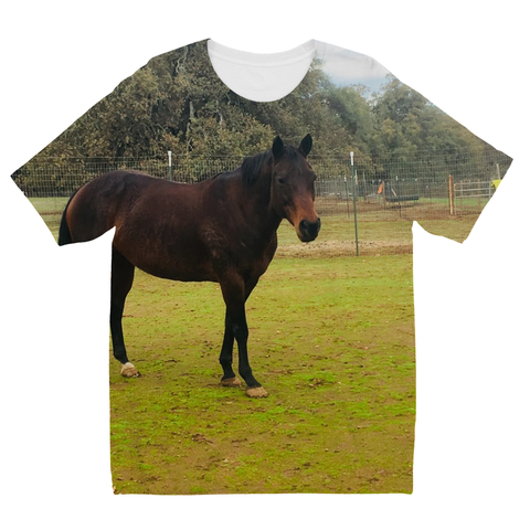 Kids Custom Horse or Pony Tee