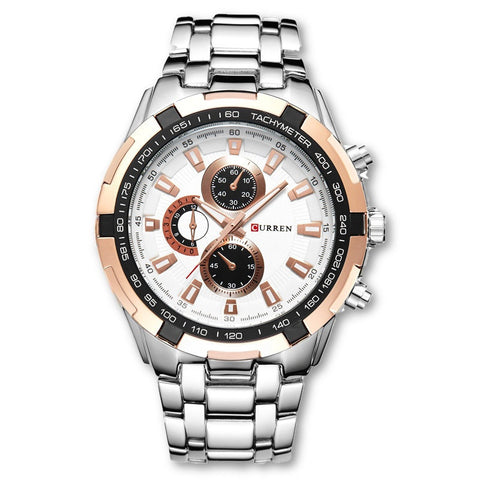CURREN Luxury Business Analog Quartz Sport Watch