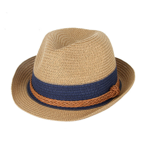 Stylish Summer Hemp Fedora