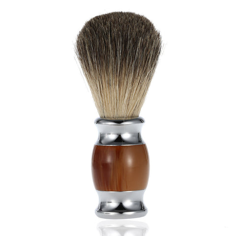 "Badger Hair Men's Shaving Brush ""Resin Handle"""