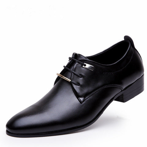 Stylish Luxury Leather Men's Oxford
