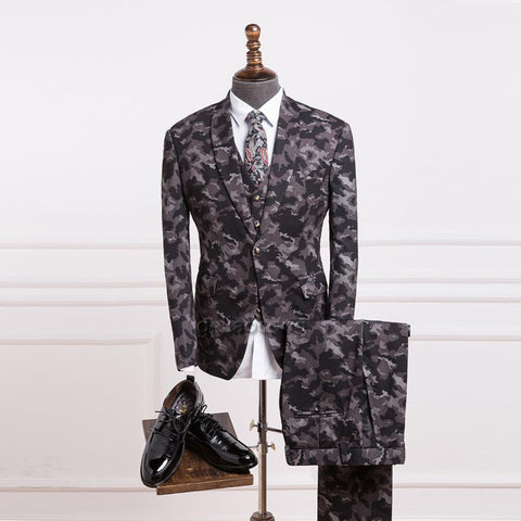 3-Piece RetroTweed Suit From 2017 Collection.