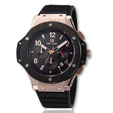 Sporty Luxury Chronograph