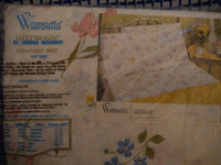 Wamsutta Ultracale Full /Double Flat Sheet, Flirtation pattern