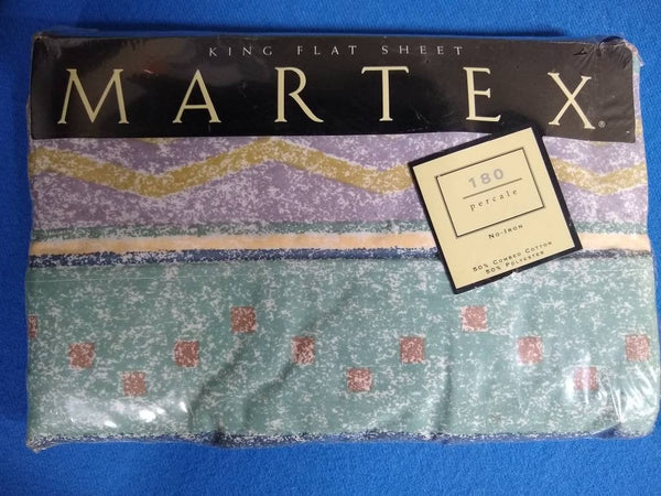 Martex king flat sheet. New in package.