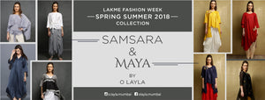 O Layla's two collections - Maya & Samsara showcase Contemporary Indian wear using rich handloom textiles