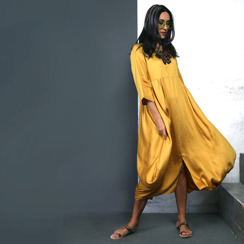 Goro Dress - Canary Yellow