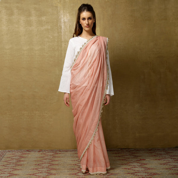 Lightweight handloom sari from O Layla's Samsara collection